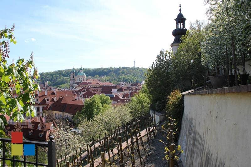 Fürstenberg Garten | Aussicht auf die Kleinseite