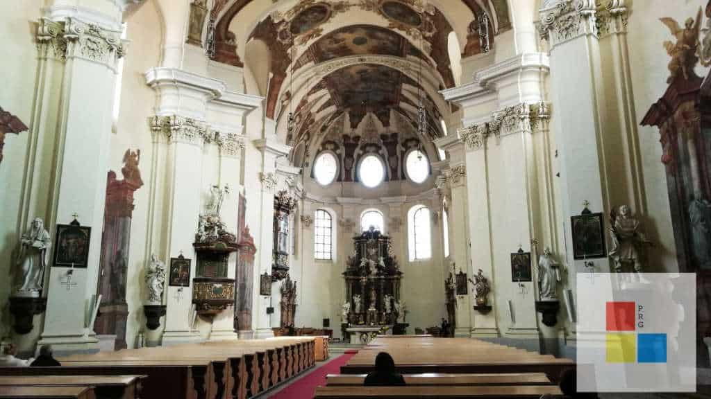 Klosterkirche des Stift Brevnov