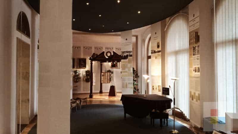 Ausstellungshalle im Museum Smetana