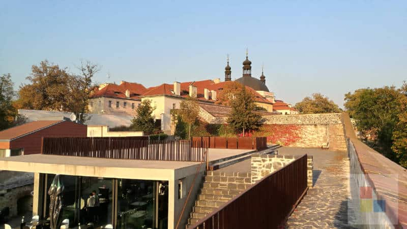 Blick zum Karlshof.