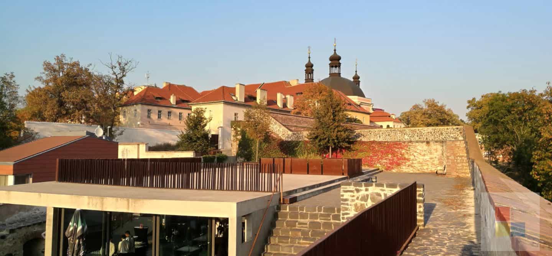 Blick auf den Karlshof von der Bastion XXXI aus