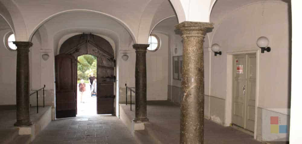 Eingangshalle des Faust Haus