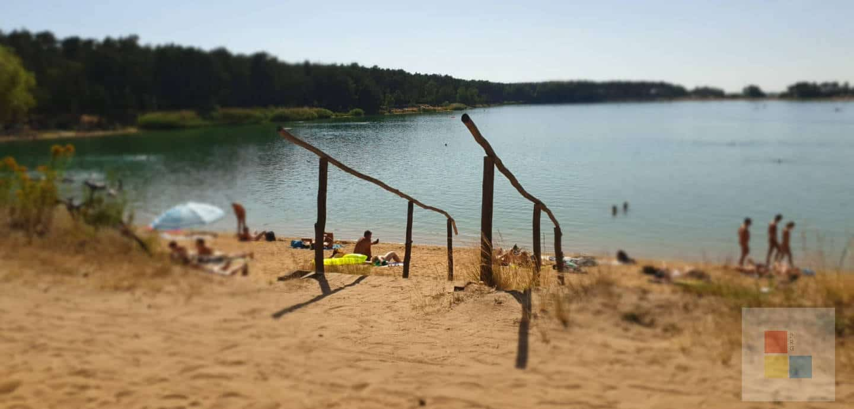 FFK am Strand von Lhota