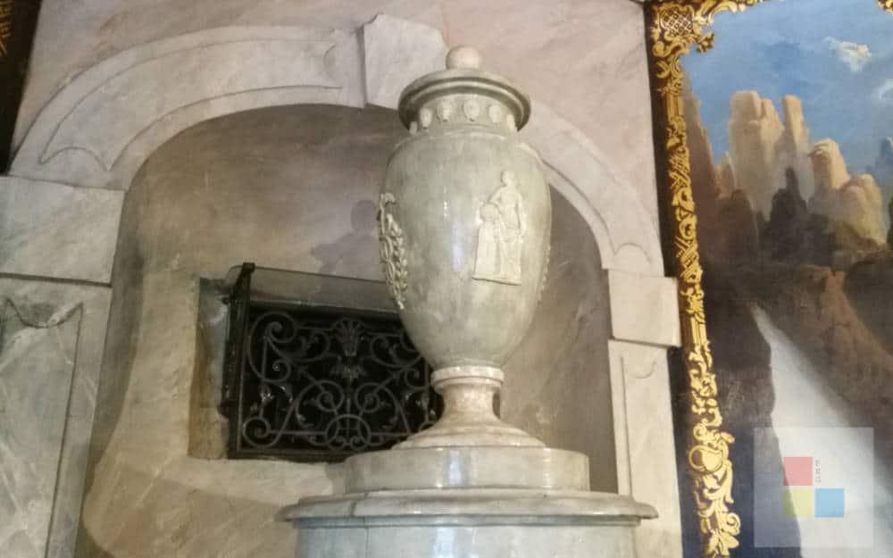 Kamin im Postmuseum