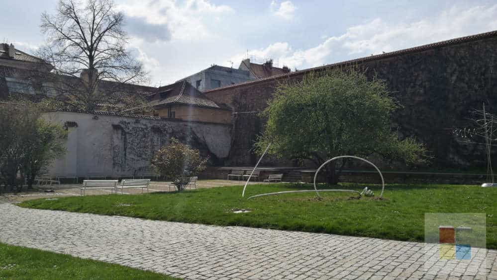 Garten im Agneskloster
