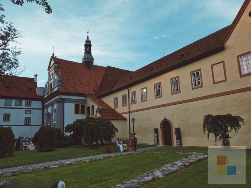 Cesky Krumlov Kloster 5