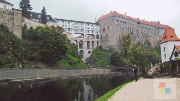Cesky Krumlov Moldau 4