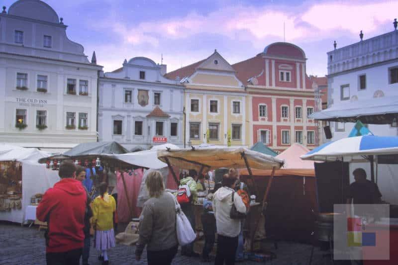 Cesky Krumlov Stadt 3