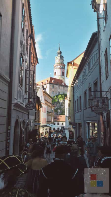 Cesky Krumlov Stadt 5