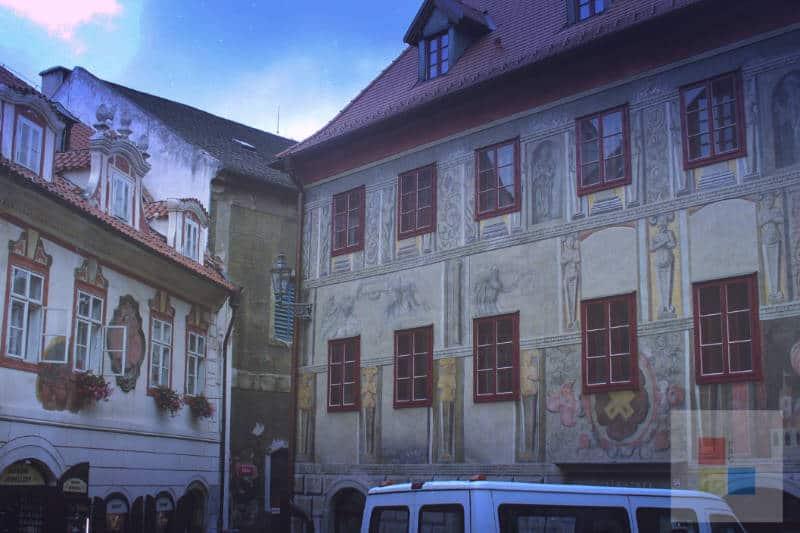 Cesky Krumlov Stadt 7