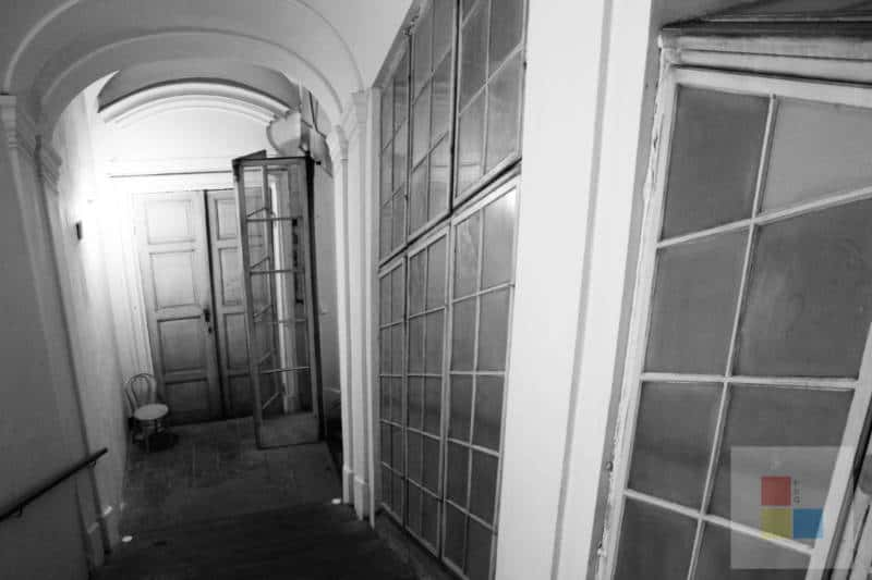 Das Treppenhaus im Colloredo Mansfeld Palast.