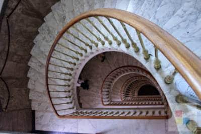 Treppenhaus im Dum Donaj