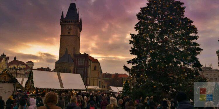 Weihnachtsmarkt in Prag