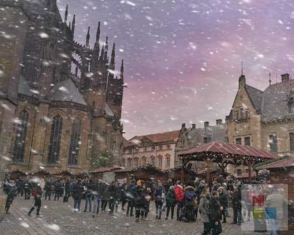 Weihnachten in Prag auf der Burg