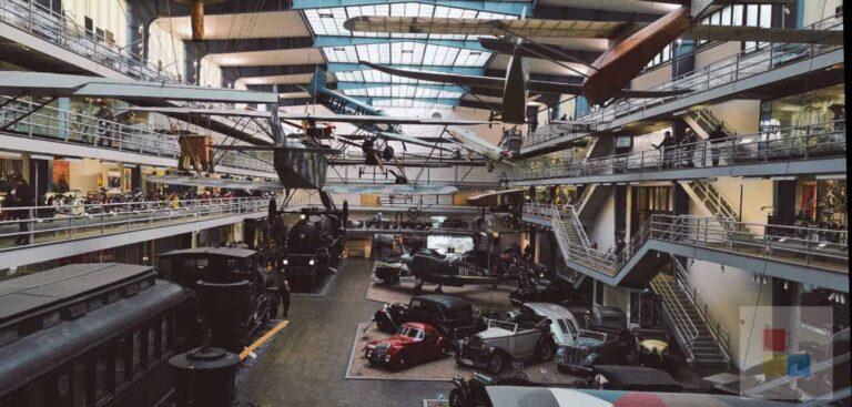 Technikmuseum Prag | Fahrzeughalle | Beitragsbild