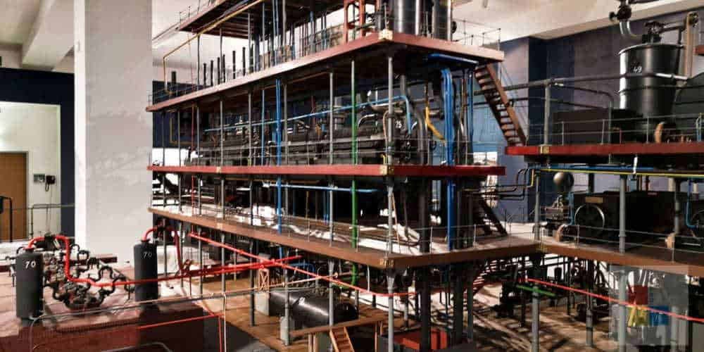 Technikmuseum Prag   Zuckerproduktion