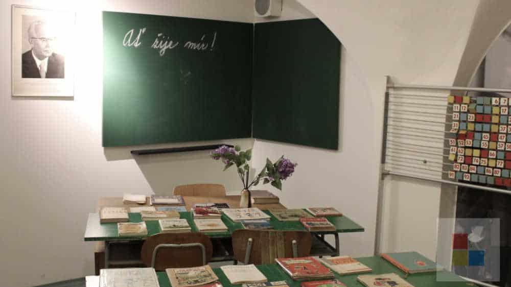 Pädagogisches Museum | Klassenzimmer im Kommunismus