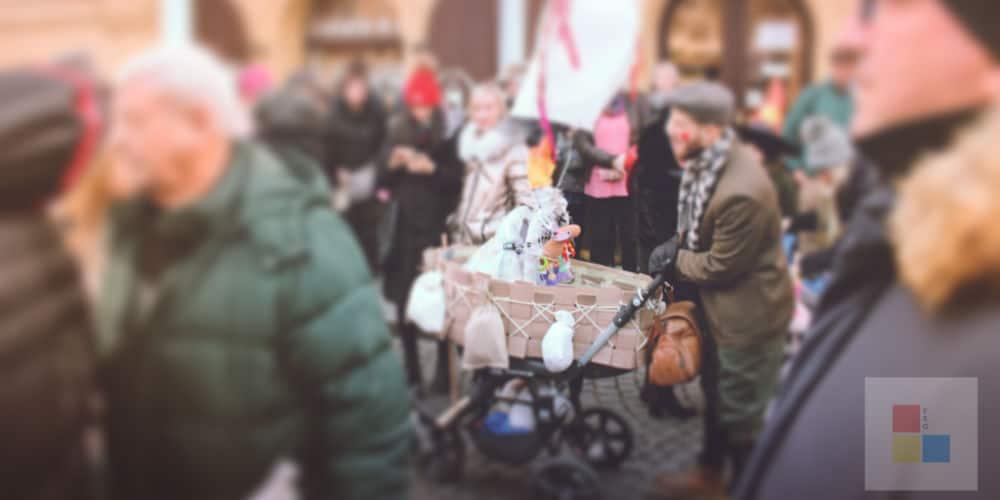 Masopust Prag | Kinderwagen