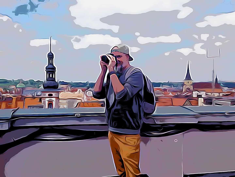 Prag Erleben   Euer Blogger über den Dächerns Prags