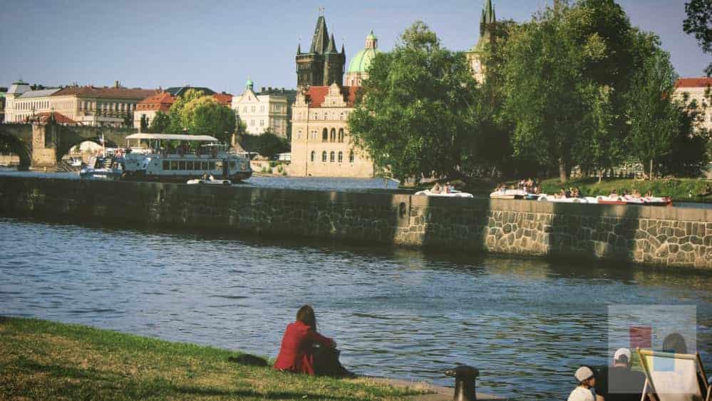 Die Moldau | Entspannung am Wasser