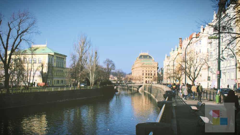 Moldau | Sophienpalais | Promenade | Nationaltheater