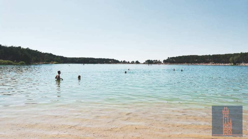 Lhota bietet auch einen FKK Strand