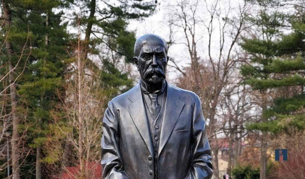 Vater von Jan Masaryk